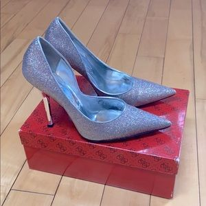 LAST REDUCTION! Guess Sparkly Heels size 8M